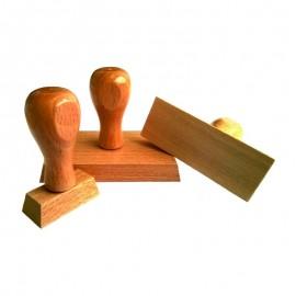 Holzstempel 10x20mm